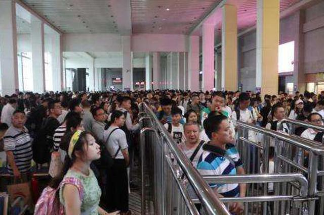 端午小长假 贵阳三大火车站日均送客超十万