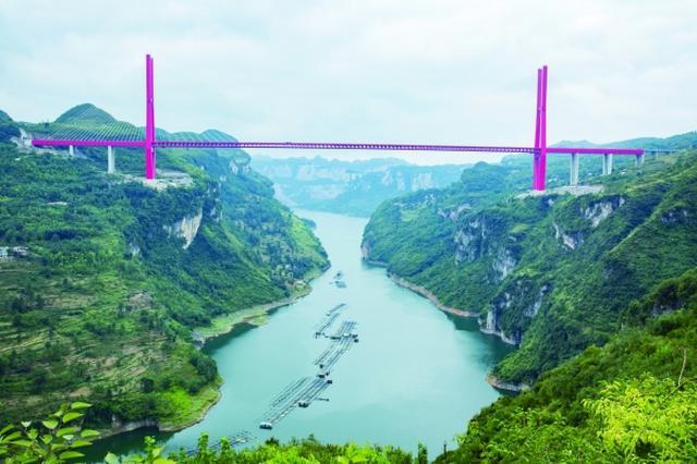 """贵州这两座桥梁获国际桥梁界""""诺贝尔奖"""""""