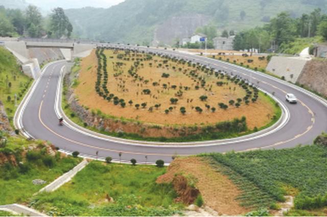 黔大公路年底完工 将打造贵州畅安舒美示范路