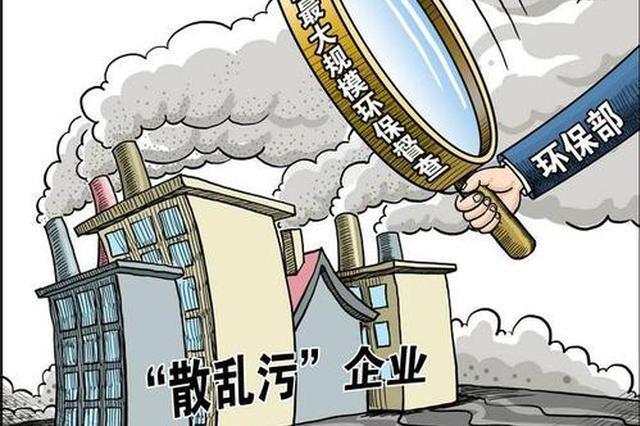 """贵州""""六个一律""""环保专项行动 424家污染企业被关停"""