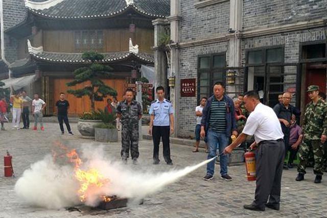 黄平县这两地 存在严重消防隐患
