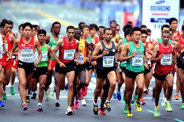 贵阳马拉松赛选手明起可领参赛物品