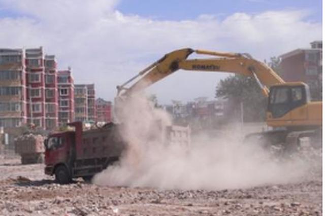 贵阳整治建筑工地扬尘污染 为期3个月