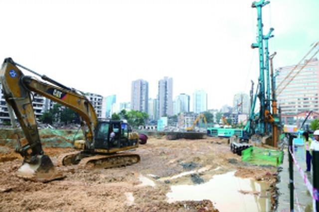 贵阳六广门再生水厂 建设稳步推进
