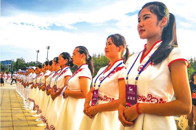 1950名志愿者服务贵州十运会
