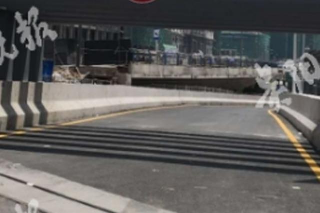 贵阳街立交新开一条匝道 从花果园可直达五里冲路