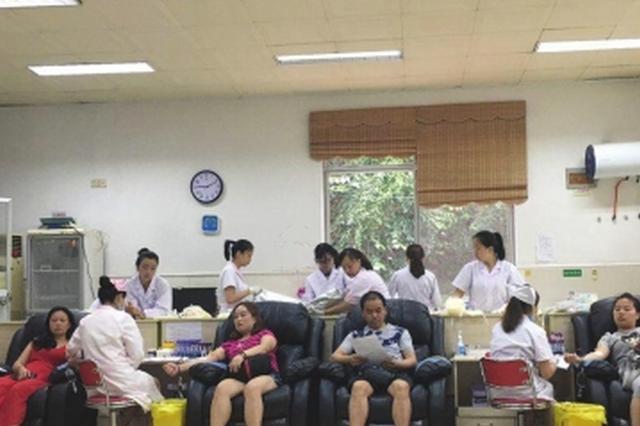 中天社区积极宣传动员 80名志愿者无偿献血