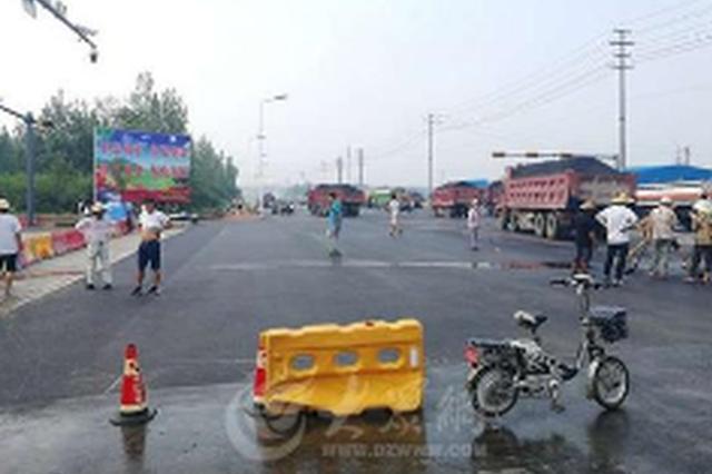 贵阳:因观云路建设施工 观山湖区上贵黔高速改道