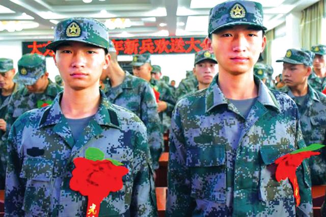 """双胞胎共圆""""从军梦"""" 同赴雪域高原"""