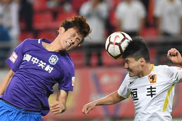足球——中超:贵州恒丰胜天津泰达
