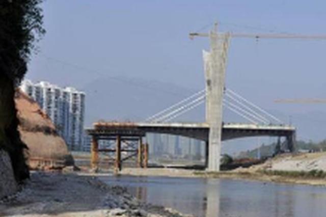 下司新大桥修复桩基 10月20日至11月30日半幅通行