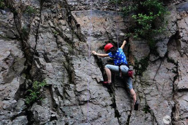 毕节市首届青少年校园攀岩对抗赛落幕