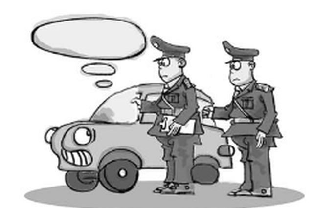 巡特警果断出击 擒获2名盗车贼
