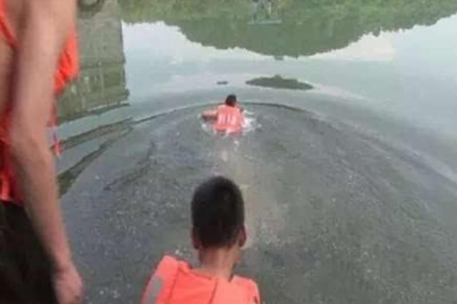 感情受挫 她跳湖輕生 幸被工作人員救起