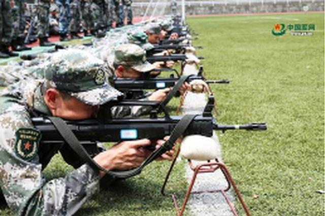 羅甸巡特警大隊開展射擊訓練