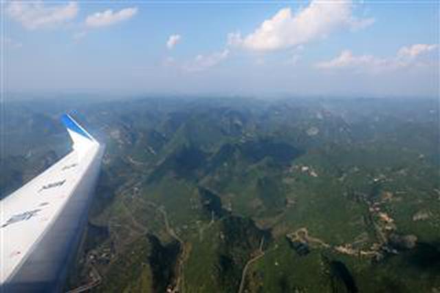 興義萬峰林機場首架過夜飛機駐場
