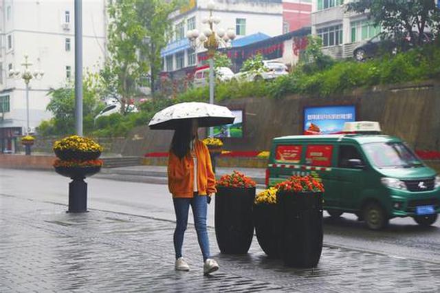 今起3天贵州多地雨水登场 阴雨绵绵到下周