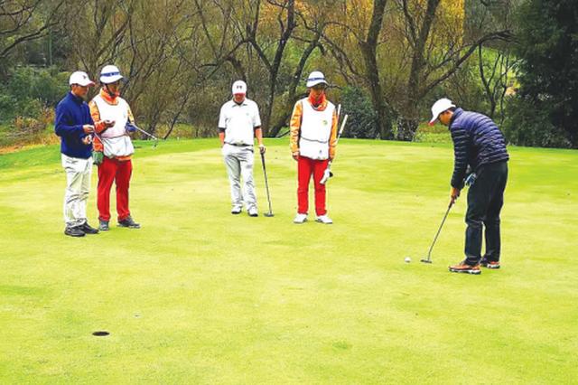 贵州高尔夫球公开赛开杆