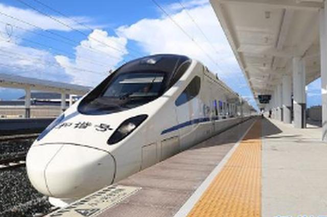 11月20日至27日 贵阳北站增开4列动车组