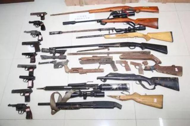 自制7支多管火药枪 六盘水4男子被判刑