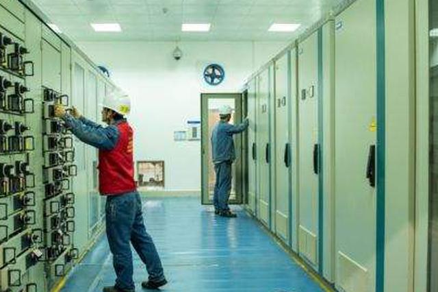 天柱白市水电站党员突击队冲在机组检修第一线