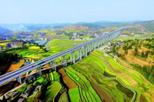 今年1—11月 贵州新开工1346个亿元以上项目