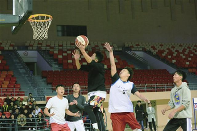遵义市第二届高校三人篮球挑战赛总决赛举行