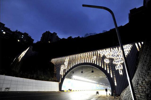 人民大道八鸽岩隧道通车在即
