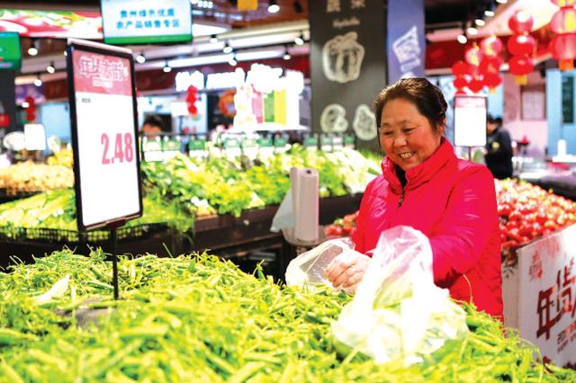 多种鲜菜价格低于农贸市场 倒逼机制拉低贵阳鲜菜价