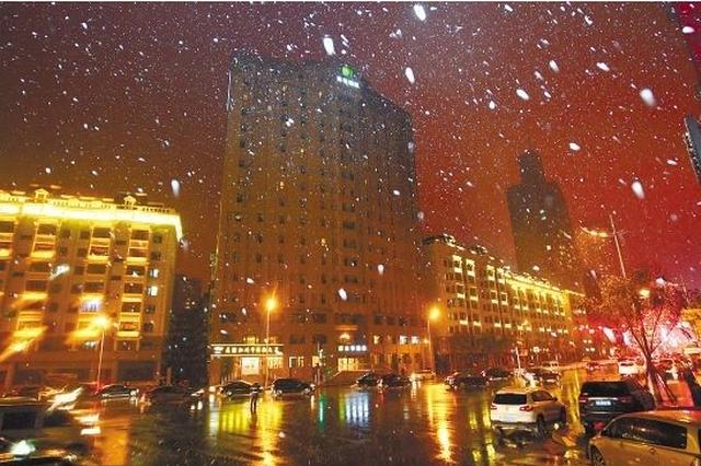 周六夜间起我省部分地区将迎雨夹雪