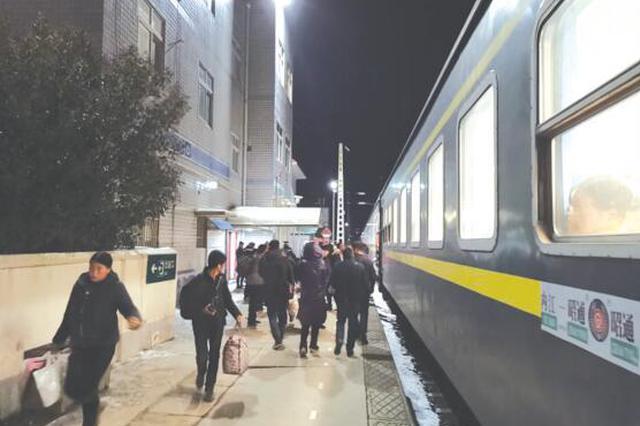 五等小站的寂寞坚守人 轮休也只能以车站为家