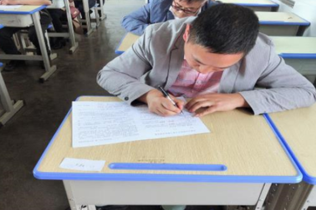 水城县杨梅乡举行扫黑除恶专项斗争知识考试