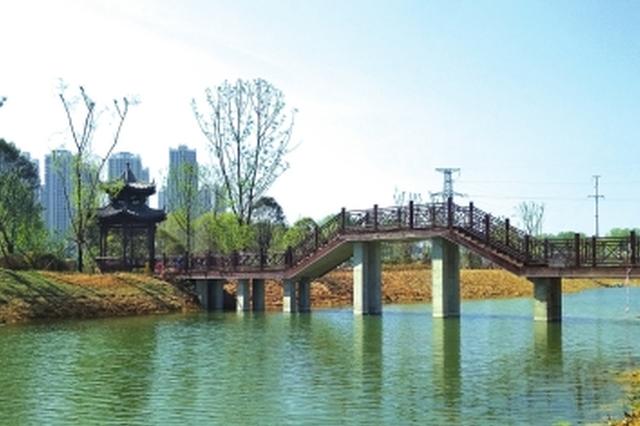 """又一座美丽的湿地公园:七彩湖公园""""面纱""""即将揭开"""