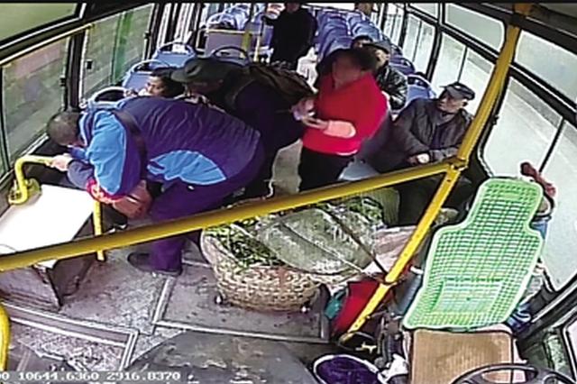 乘公交突发疾病 警民携手老人得救