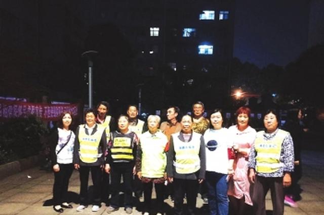铝兴社区志愿者夜间巡逻队 9年风雨无阻守护百姓平安