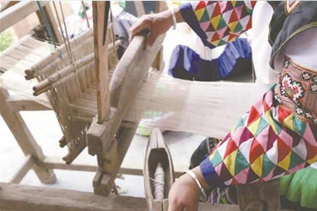 手工织麻:苗家人长久的情怀