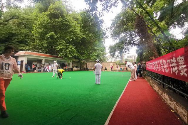贵阳市第三十二届老年人等级门球赛圆满收杆