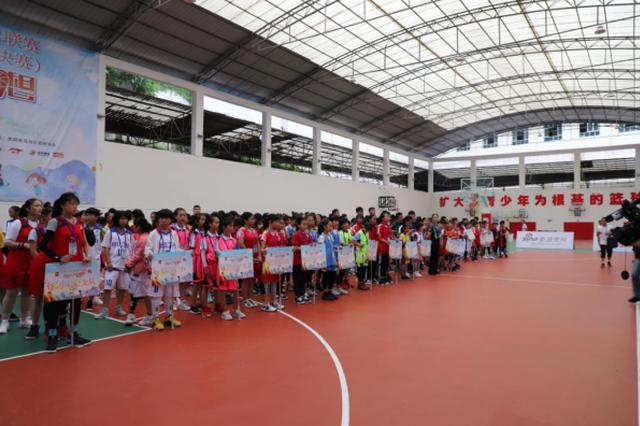 """中国小篮球联赛贵州总决赛U12组:女子上演""""印江童话"""" 男子"""
