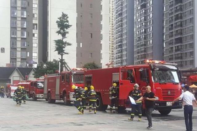 花果园社区 扎堆场所排查消防隐患