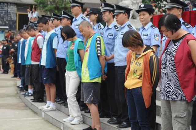 中华社区 对涉毒人员突击检测