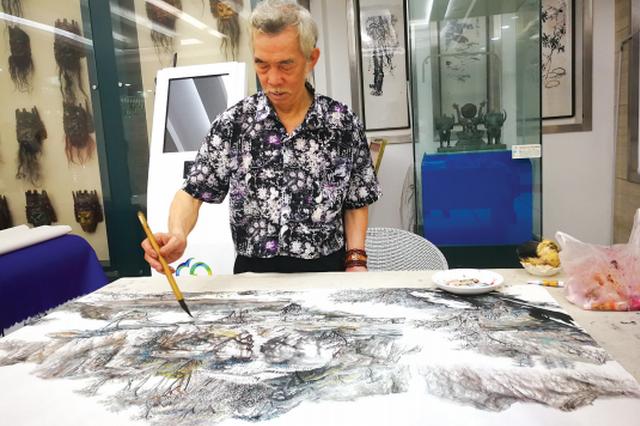 """贵州""""画怪"""",山洞作画30年——自学成才的草根画家宋传中"""