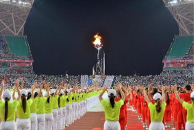 参加全国第二届青年运动会 贵州代表团即将出征