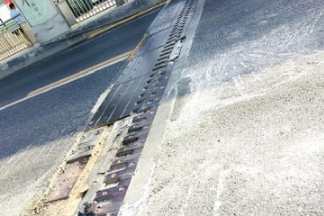 中环路沙冲路附近 行车有隐患