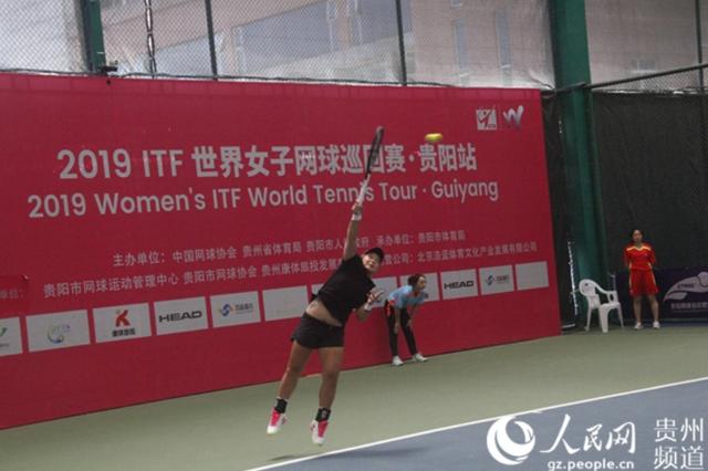中国组合蒋欣玗/汤千慧获ITF贵阳站双打冠军