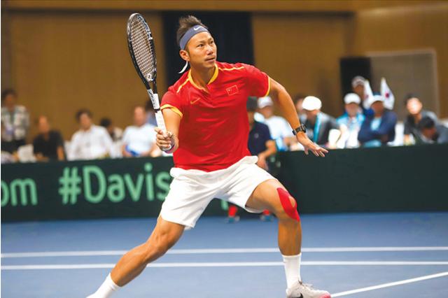 戴维斯杯网球赛贵阳收官 中国1-3负于韩国