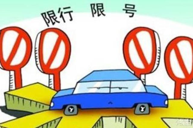 关于调整小型客车尾号限行规定的通告
