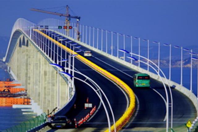 探访中国首座跨海公铁两用桥—— 平潭大桥飞架风暴海域