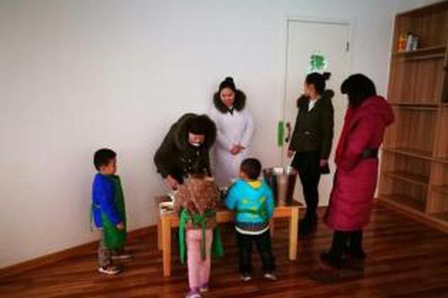 社区暖心相助  困难居民娃娃顺利入园