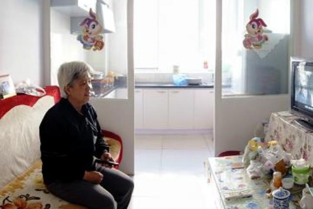 观山社区 慰问辖区低收入家庭