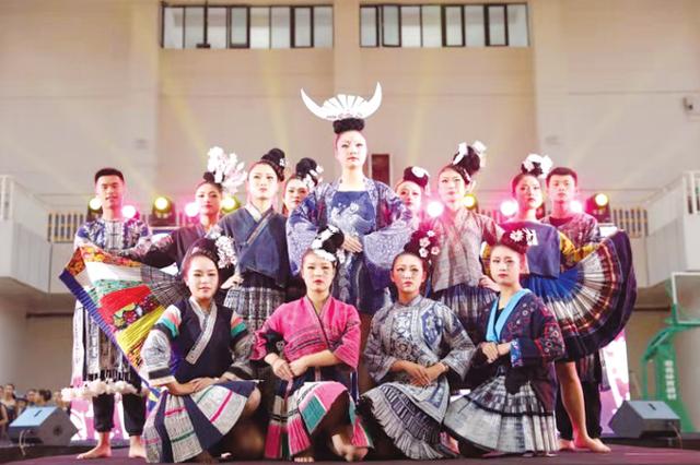 贵州高校蜡染大赛 38件作品入围总决赛